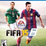 Portada Official de FIFA15 en mexico.