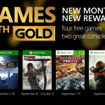 Games With Gold. Septiembre 2015
